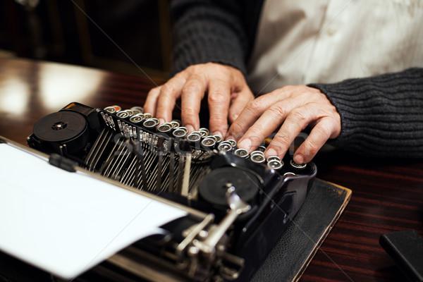 Typewriter Stock photo © MilanMarkovic78