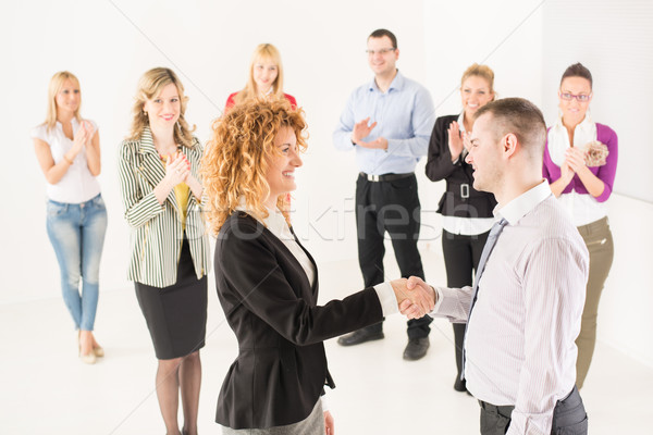 Stock photo: Successful Business persons