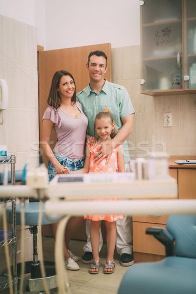 Family At The Dentist Stock photo © MilanMarkovic78