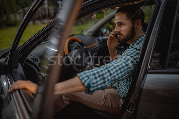 Business Is Calling And I Must Go! Stock photo © MilanMarkovic78