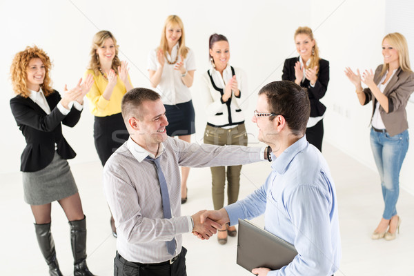 Stock photo: Successful Agreement