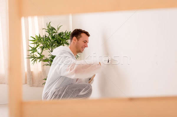 Polishing Wall Stock photo © MilanMarkovic78