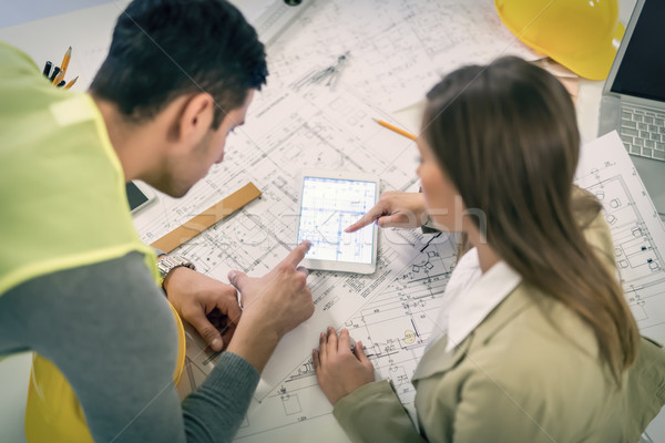 建設 建築 先頭 表示 成功した 小さな ストックフォト © MilanMarkovic78