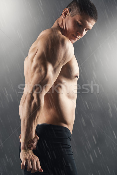 Handsome Muscular Men Stock photo © MilanMarkovic78