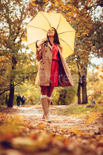 Happiness Under An Umbrella Stock photo © MilanMarkovic78