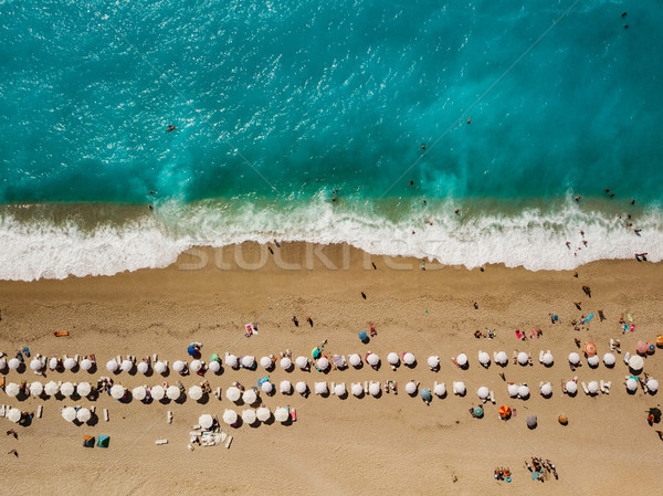 Au-dessus plage incroyable idyllique blanche Photo stock © MilanMarkovic78
