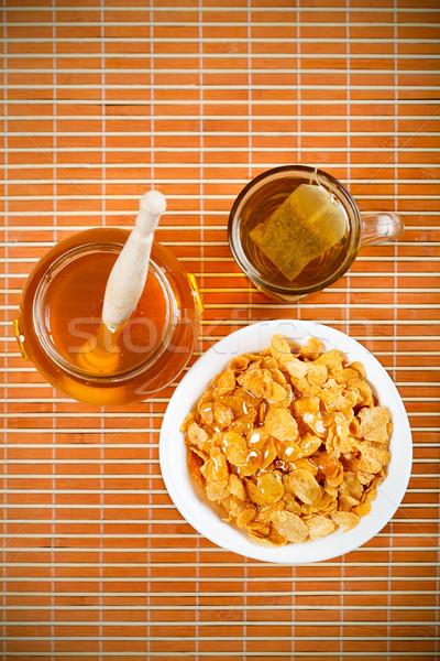 Healthy Breakfast Stock photo © MilanMarkovic78
