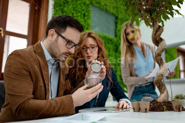 анализ молодые команда университета Сток-фото © MilanMarkovic78
