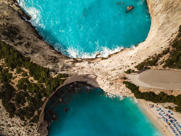 Aerial View Of Mediterranean Cliffs  Stock photo © MilanMarkovic78