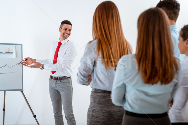He's A Great Communicator  Stock photo © MilanMarkovic78