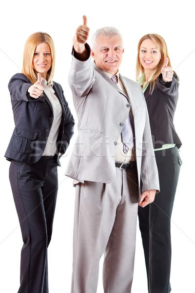 ストックフォト: 成功した · ビジネスチーム · シニア · マネージャ · 2 · 女性