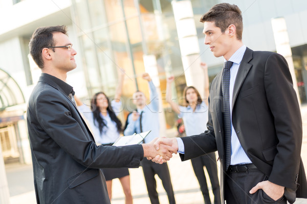 Successful Business Deal Stock photo © MilanMarkovic78