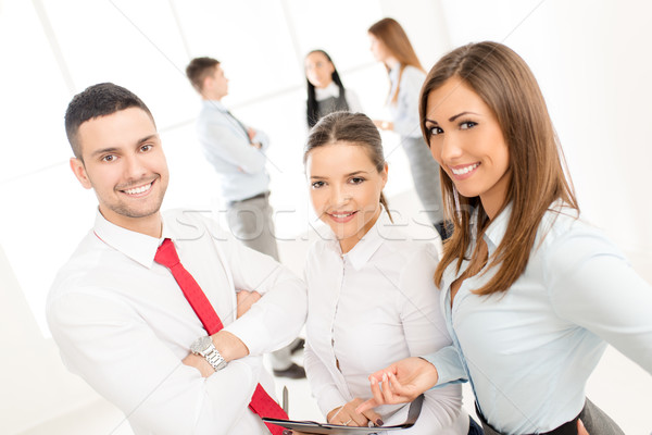 Young Business Team Stock photo © MilanMarkovic78