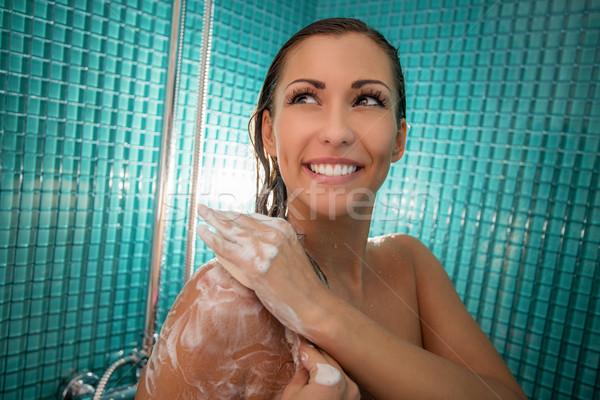 Showering Stock photo © MilanMarkovic78
