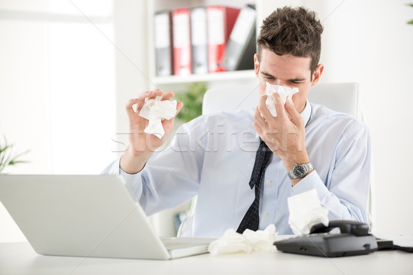 Working With Allergy Stock photo © MilanMarkovic78