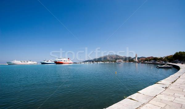 ザキントス 水 市 海 ギリシャ ストックフォト © MilanMarkovic78
