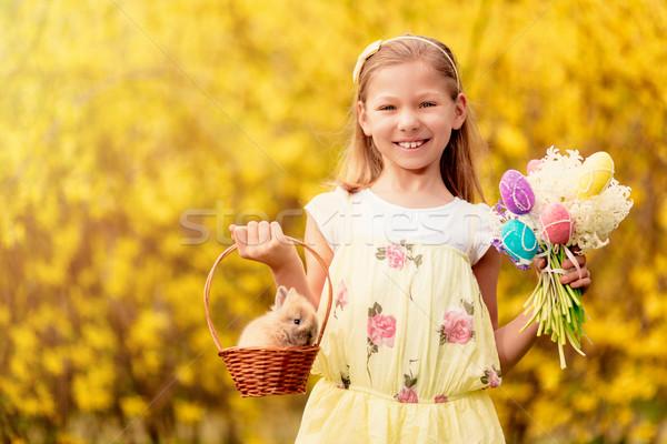 美しい 笑みを浮かべて 女の子 かわいい ストックフォト © MilanMarkovic78