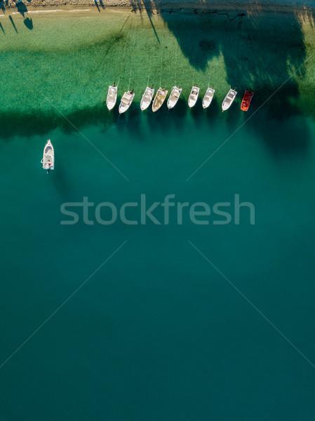 Bateaux coloré belle été Photo stock © MilanMarkovic78