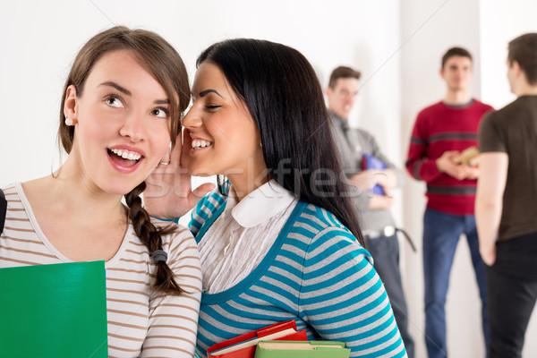 Stock photo: Student Girls