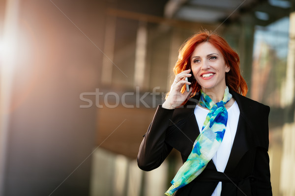 She Was Born For Success Stock photo © MilanMarkovic78