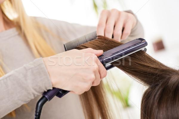 Hair Straighteners Stock photo © MilanMarkovic78