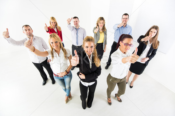 Business team Showing Thumbs Up Stock photo © MilanMarkovic78