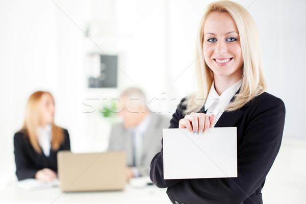 Business woman Stock photo © MilanMarkovic78