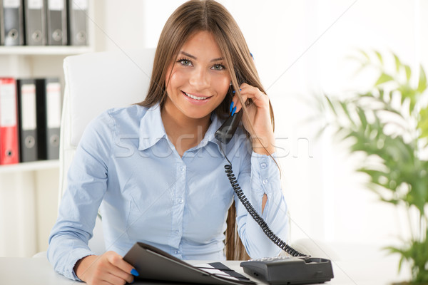 Businesswoman Stock photo © MilanMarkovic78