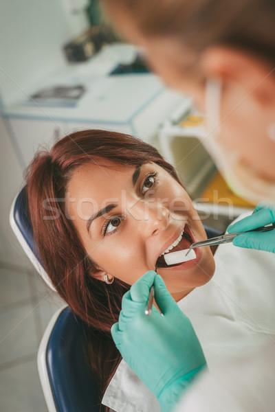 At The Dentist Stock photo © MilanMarkovic78