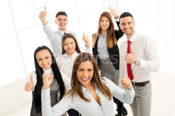 Group Of Young Business People Stock photo © MilanMarkovic78
