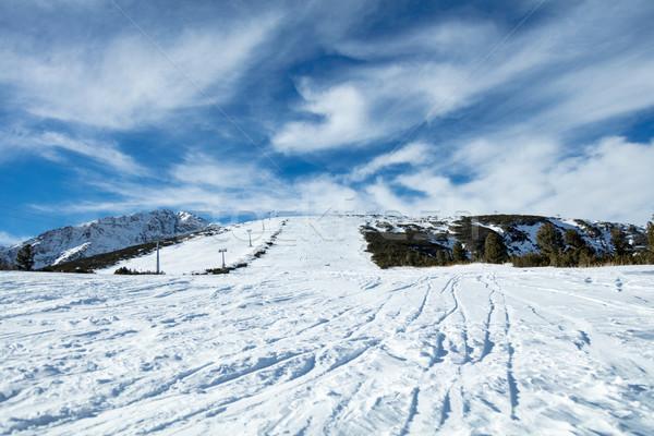 Ski Slope Stock photo © MilanMarkovic78