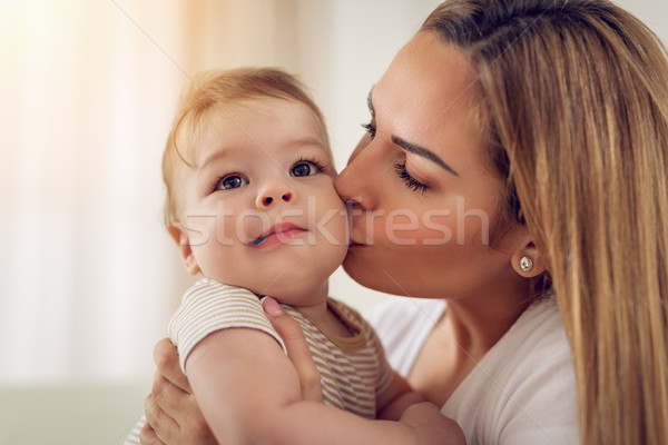 Stock photo: Little Boy With Mother