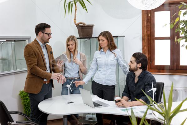 Best projecten samen team smart Stockfoto © MilanMarkovic78
