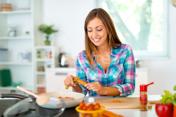 Cooking Is My Bliss  Stock photo © MilanMarkovic78