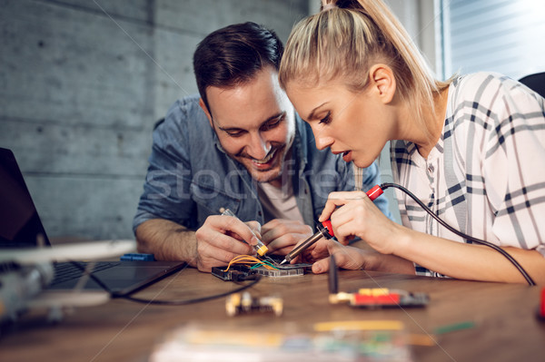 They Have A Passion For Science Stock photo © MilanMarkovic78