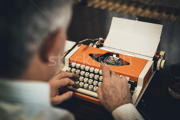 Typewriter Stock photo © MilanMarkovic78