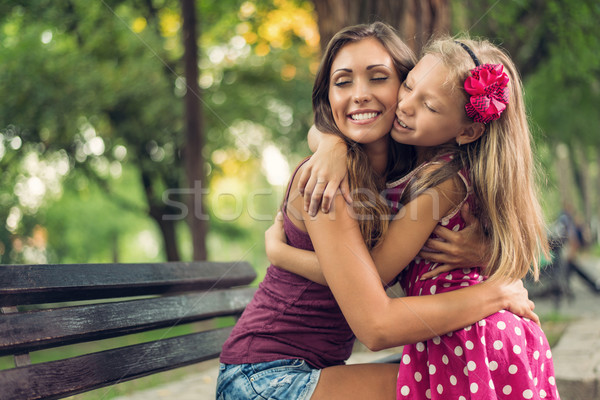 Stock photo: Loving Mother And Daughter