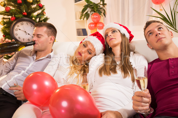 End Of New Year's Party Stock photo © MilanMarkovic78