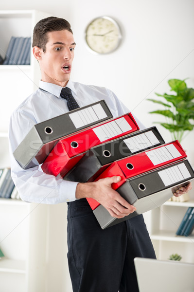 Stressed Businessman Stock photo © MilanMarkovic78