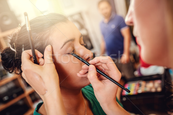 Stock photo: Perfect Makeup Application