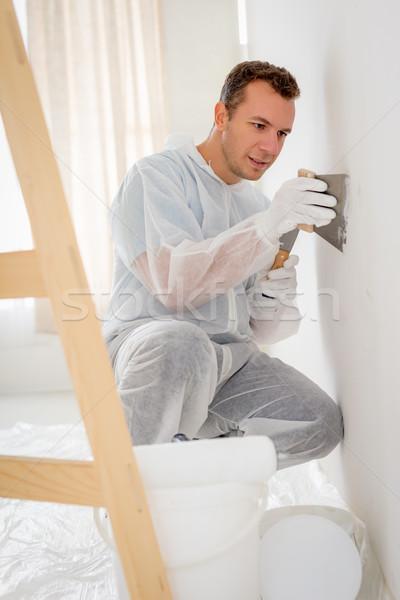 Polishing Wall Stock photo © MilanMarkovic78
