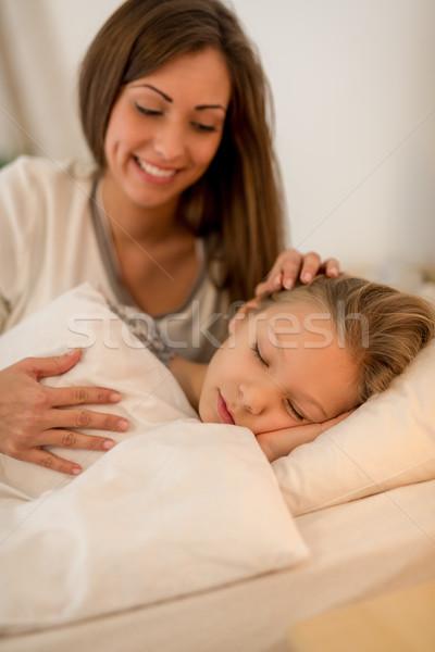 Bedtime Stock photo © MilanMarkovic78