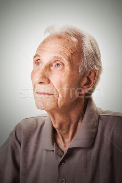 Portrait of elderly senior men Stock photo © MilanMarkovic78
