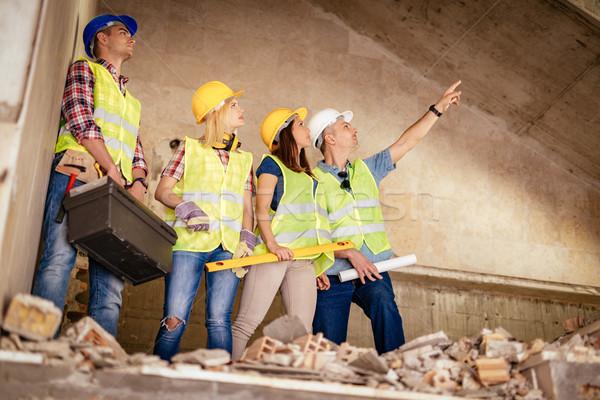 再建 4 建設 建物 ストックフォト © MilanMarkovic78