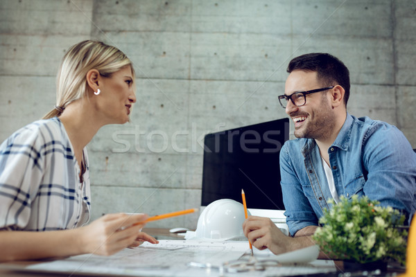 Creating Some Of The Best Designs Together  Stock photo © MilanMarkovic78