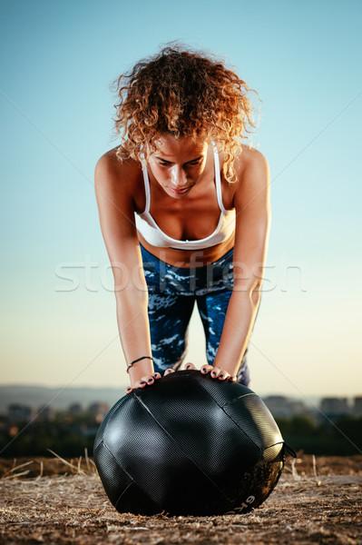 Many Reasons To Exercise Outdoors  Stock photo © MilanMarkovic78