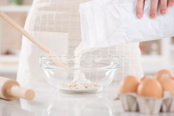 Making Dough Stock photo © MilanMarkovic78