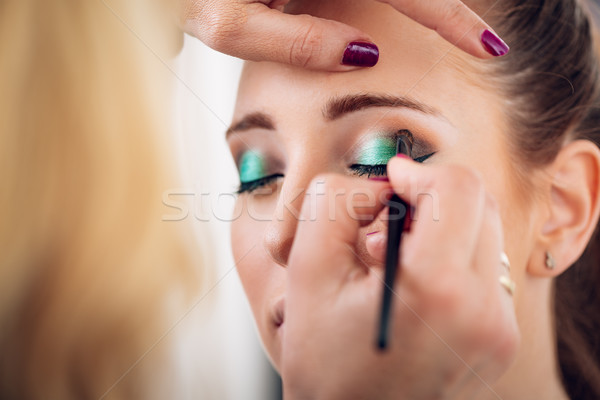 Perfect Makeup Stock photo © MilanMarkovic78