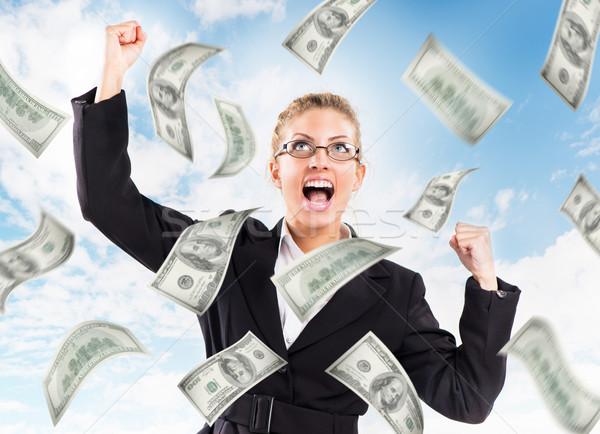 Money From Heaven Stock photo © MilanMarkovic78