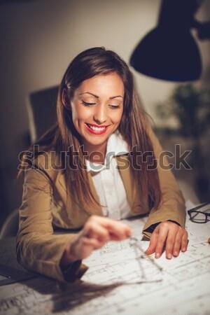 Female Architect Stock photo © MilanMarkovic78
